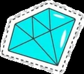 стикер алмаз кристалл freetoedit