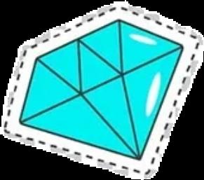#стикер #алмаз #кристалл