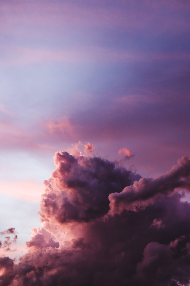 Create something awesome!	 Unsplash (Public Domain) #sky #clouds #pink #background #backgrounds #freetoedit