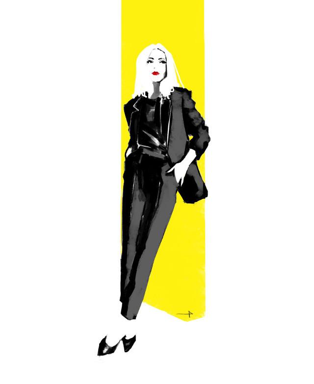 #punksy #illustrator #fashion #fashionart #fashionillustrator #freetoedit