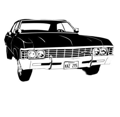#supernatural #SPN #winchester #baby #hunters #car #serie #sobrenatural