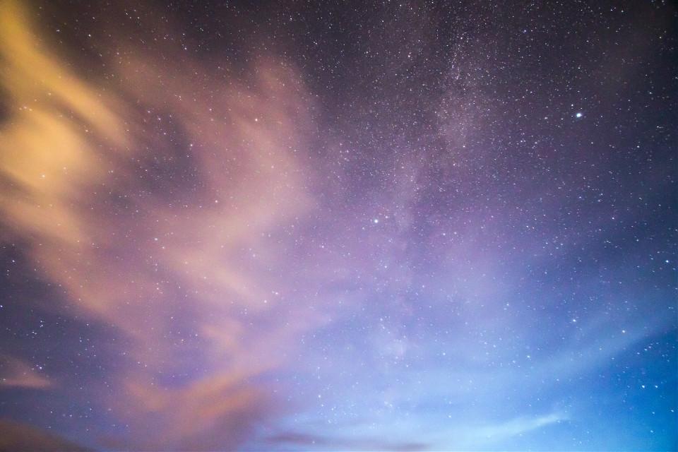 Create a mystical remix. Unsplash (Public Domain) #sky #stars #galaxy #background #backgrounds #freetoedit