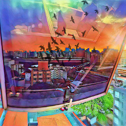 freetoedit birds city colors magiceffects srcbirds