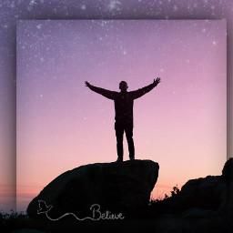 believe freedom sky colours effects freetoedit