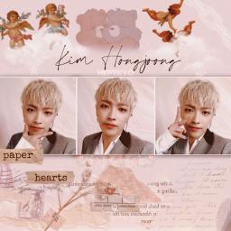hoongjoong kimhongjoong ateez ateezhongjoong ateezedit freetoedit