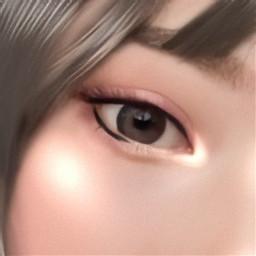 eyes eyesclosed eyesshadow eyeliner asiangirl