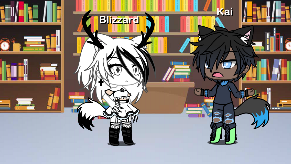 Wait- are you a pet?~Kai  *turns around*~Blizzard  ......?~Blizzard  are YOU a pët???