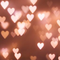 hearts bokeh lights background backgrounds freetoedit