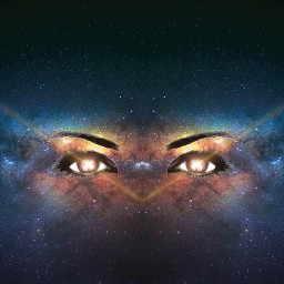 freetoedit galaxy eyes iseeyou mirroreffect ircgalaxysky galaxysky