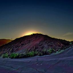 desert deserthotsprings mountain sunset socal