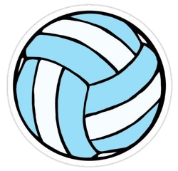 volleyball ball beachvolley blueaesthetic lightblue freetoedit