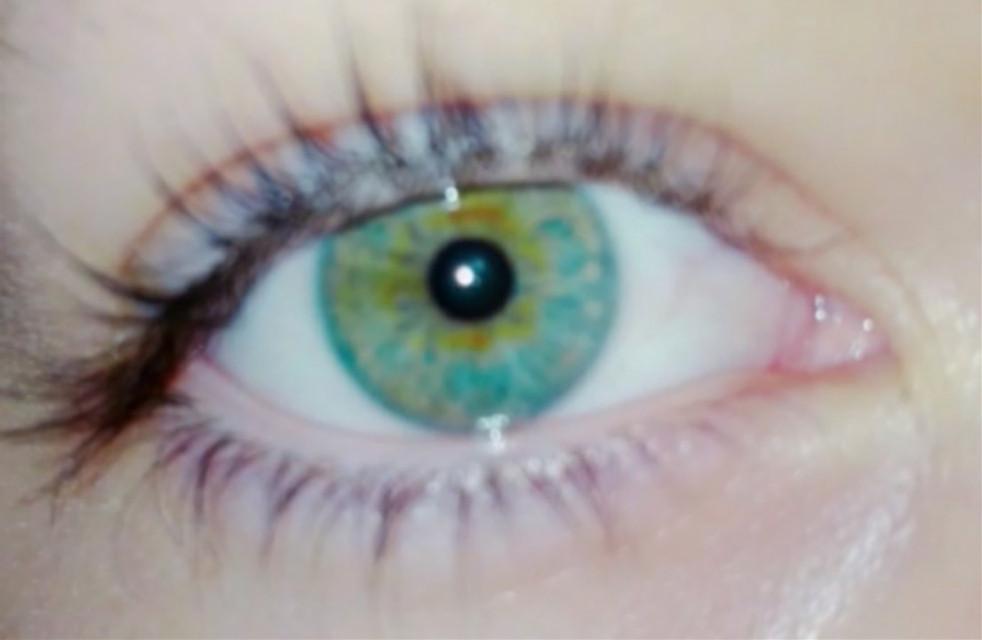 #green #eye Das ist jetzt mein Auge ohne Filter 💚😉