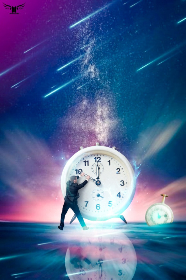 I wish time  had better timing  for you and me💙⏱⏱ #freetoedit #watch #man #starsky #mycreativity #becreative @picsart  .. .. .. ..#myedit #madewithpicsart