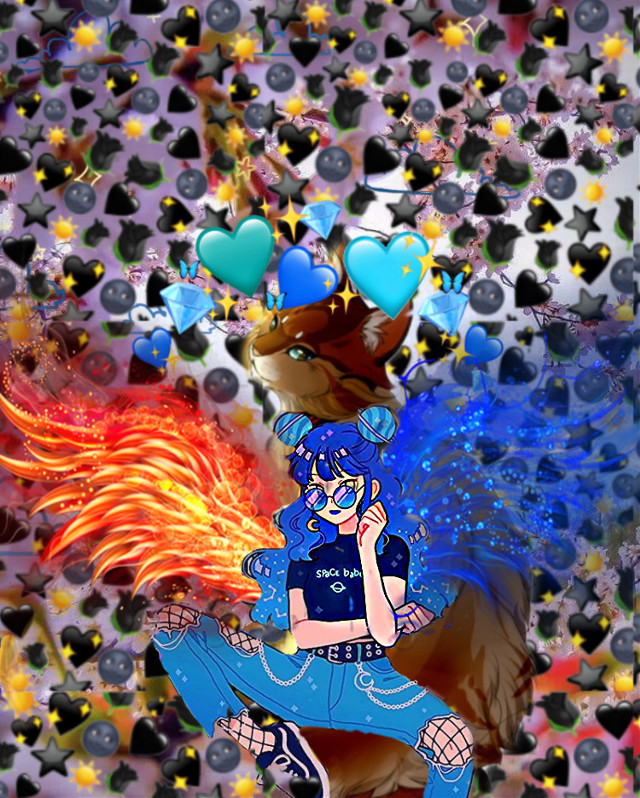 #freetoedit  My fire and water edit :)