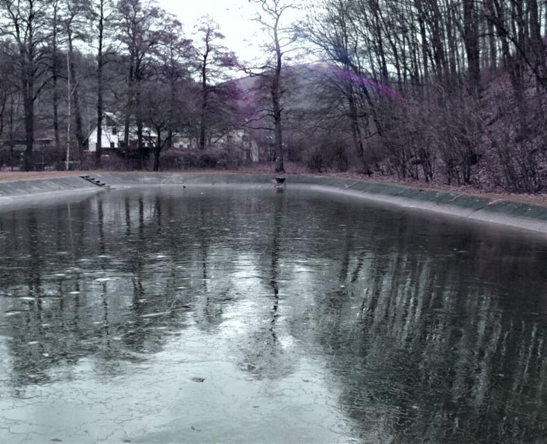 #nature#mirror#winter  #freetoedit