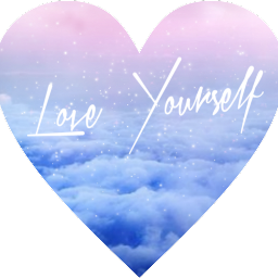 loveyourself clouds pastel love you freetoedit schearts hearts