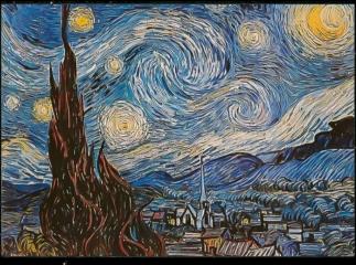 vangogh starrynight art vangoghart aesthetic freetoedit