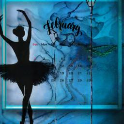 freetoedit february calendar aesthetic blueaesthetic srcfebruarycalendar februarycalendar
