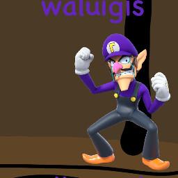 freetoedit meme waluigi waluigitime glue