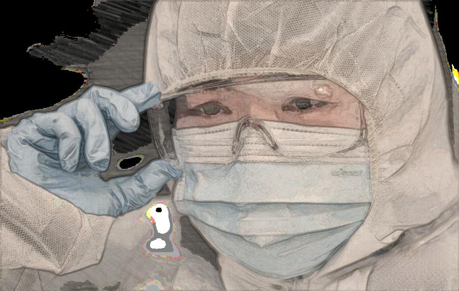 #医护人员