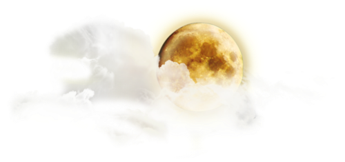#стикер#луна#планета#галактика#облака#