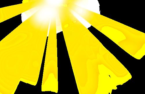 #стикер#солнце#лучи#