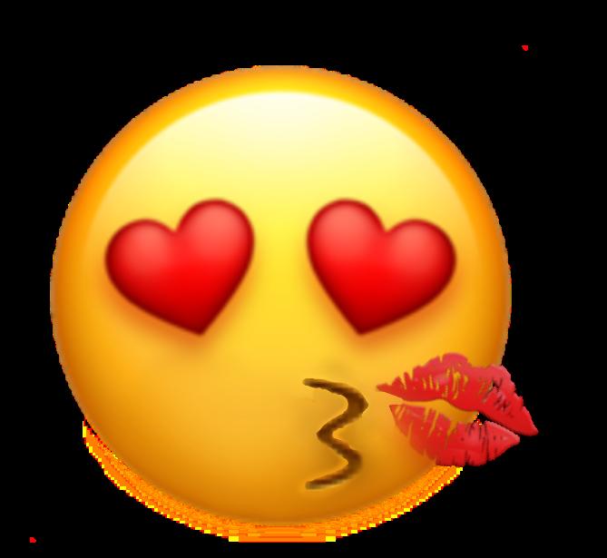 Min första egna emoji! 🤩 Hoppas ni gilar den! ❤ My first own emoji! 🤩 Hope you like it! ❤ #costomemoji #kissface #emoji #hearteyes 😍 + 😘 + 💋