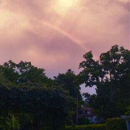 beautifuldays heartshape rainbow myphotography freetoedit