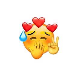 freetoedit emoji shyemoji
