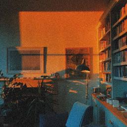 orange orangeaesthetic interesting cute room