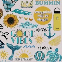 freetoedit aesthetic pastel yellow sunset scrunchie scrunchies