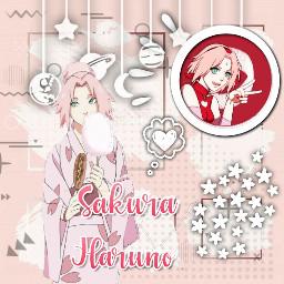 sakura sakuraharuno animegirl pink freetoedit
