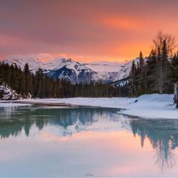 river lake canadianrockies landscape canada freetoedit