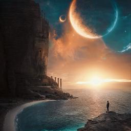 freetoedit labdscape field cliff planet