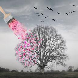 freetoedit spring panting srcrosepetals rosepetals