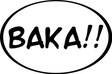 freetoedit baka anime expression comic