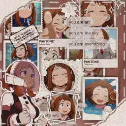 ochaco uraraka ochacouraraka urarakachako uravity anime animegirl mha myheroacedamia bnha bonkunoheroacedamia animeedit animeeditbyme freetoedit
