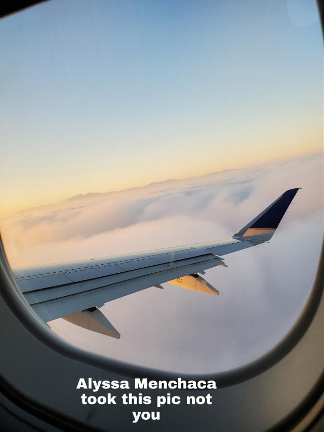 :D #hawii #clouds #airplane #aethstic #madebylowkeyaethetic