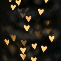 hearts lights bokeh background backgrounds freetoedit