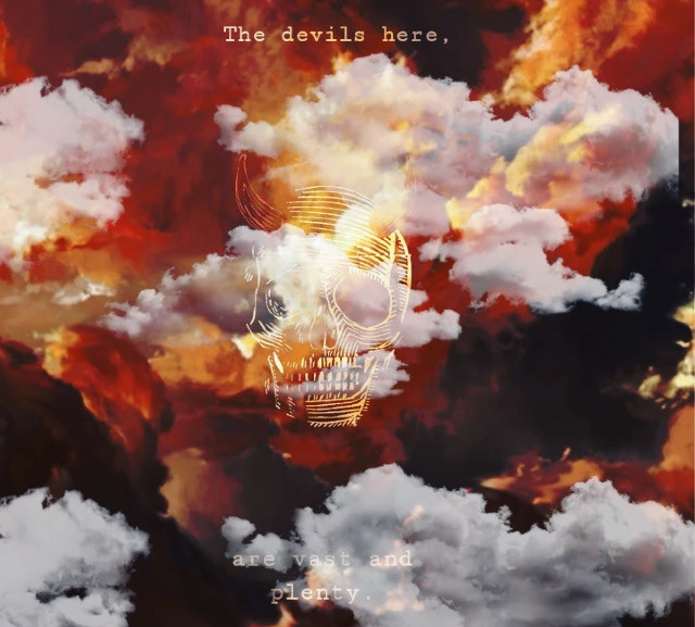 #clouds #sky #sunset #skull #devil #uniquelydope