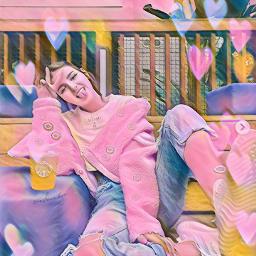freetoedit pink miller eva unicorn