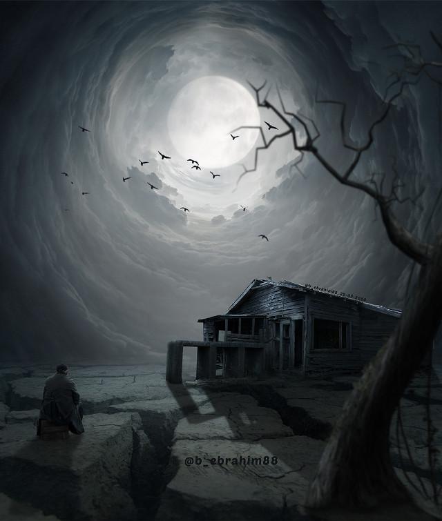 #sky #myphoto #eye #beauty #white #dark #darkness #man #sketch #myedit #moon #art #colorful #freetoedit   #remixit