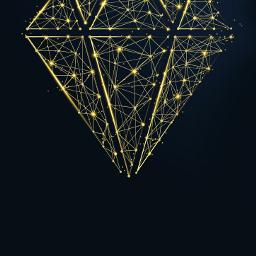 gold golden diamond jewel gem