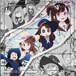 littlewitchacademia sucy anime complex edit freetoedit