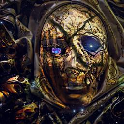 freetoedit carnivalmask mask gold gem