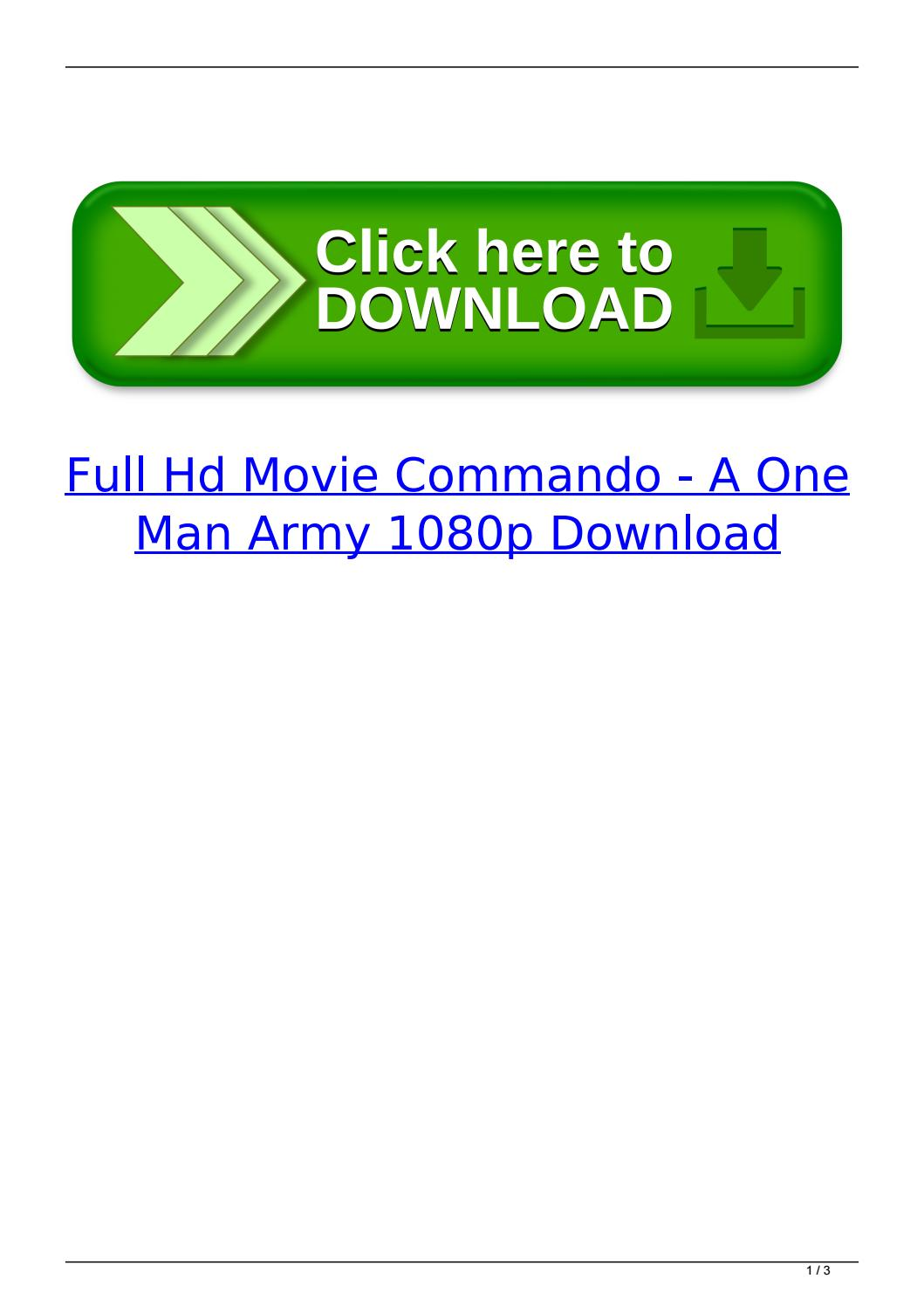 Hd Online Player Commando A One Man Army Tamil Dubbed Hyperspininstall10finalzip