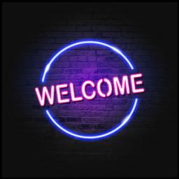 welcomeneon welcomelight
