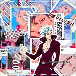 ban sds sevendeadlysins anime animeboy animeedit freetoedit