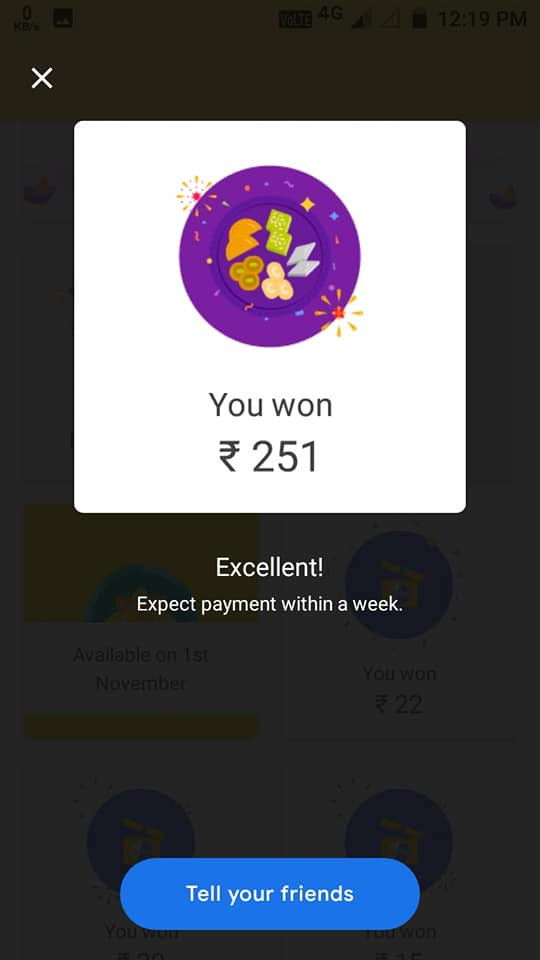 Google Pay (Tez) 252 Bonus Trick bonus hidden google tricks, bonus google trick   Google Pay (Tez) 252 Bonus Trick >>> http://picfs.com/199xl1        Forbes is a global media company, focusing on business, investing, technology, entrepreneurship, leadership, and lifestyle.. Send money to friends, pay bills and buy online, recharge your phone, or pay at the nearby café with Google Pay, a simple and secure payments app by Google.. to continue to Google Pay. Email or phone. Forgot email? Type the text you hear or see. Not your computer? Use Guest mode to sign in privately. Learn more.. Tez is now called Google Pay! Send money to friends, pay bills and buy online, recharge your phone, or pay at the nearby café with Google Pay, Google's digital.... Sent your gift More dance lessons? ... Built for India with all the features and rewards you love, plus much more. Google Pay is the simplest way to send money home to your family, recharge your mobile, or pay the neighbourhood chaiwala.. Use the format below to link users to a search query result on Google Play. ... 25 Bonus + Rs. Get MPL Pro Unlimited Token Coupon Code with Mod APK Tricks. ... Page Keywords /2017/09/google-tez-app-unlimited-trick-refer-and-earn-money. ... Now, ALL Referral Codes pay out $100 USD: $50 to The Person Using the.... Google Pay for India, also known as Google Tez, is preparing to add 2020 ... to unlock a bonus prize of ₹1 lakh! pic.twitter.com/zGH10JSq70.  c715b3ac09  #freetoedit