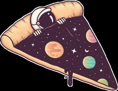 #pizza#space #espacio🚀 #austronaut #austrona #picsart #stickers #cute #aesthetic